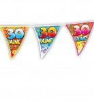 Guirlande fanions anniversaire 30 ans