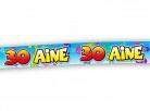 Banderole anniversaire 30 ans