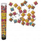 Canon confettis anniversaire 60 ans
