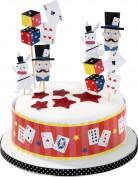 12 Décorations gâteau Goûter entre magiciens