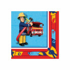 20 Serviettes en papier Sam le pompier™ 33 x 33 cm