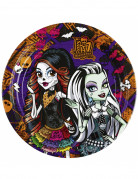 8 Assiettes en carton Monster High™ 23 cm