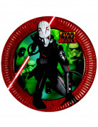 8 Assiettes en carton Star Wars Rebels™ 23 cm