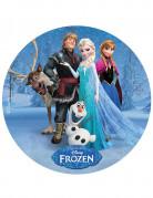 Disque azyme 20cm La Reine des neiges - Frozen™