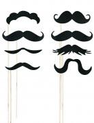 Kit photobooth 8 moustaches