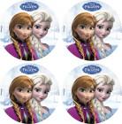 12 Mini disques azyme La reine des neiges™