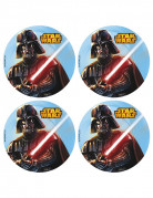 12 Mini disques azyme Star Wars ™