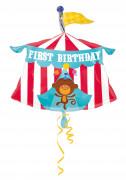 Ballon aluminium 1st Birthday Fisher Price Circus™