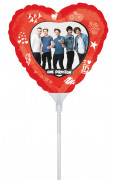 Ballon aluminum One Direction ™ 22 cm