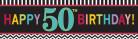 Bannière 50 ans Celebrate your birthday