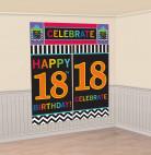 Arrière plan 18 ans Celebrate your birthday