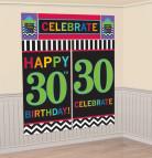 Arrière plan 30 ans Celebrate your birthday
