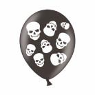 6 Ballons Têtes de Mort