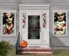 Kit de décoration murale asile zombie
