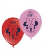 8 Ballons Imprimés Minnie ™ 28 cm