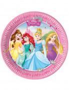 8 Assiettes Princesse Disney™ 23 cm