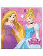 20 Serviettes en papier Princesses Disney ™ 33 x 33 cm