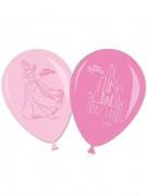 6 Ballons latex Princesses Disney™