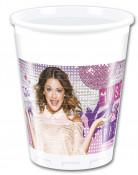 8 Gobelets plastique Violetta™