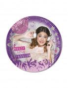 8 Assiettes Violetta™ 20 cm