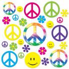 42 Décorations cartonnées Hippie