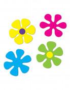 4 Décorations Fleurs rétro