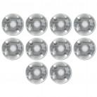 10 Décorations cartonnées Boules Disco 11 cm