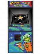 Décoration de porte Arcade Game Années 80's