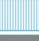 Nappe en plastique Pieds bleus 137 x 264 cm