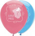 6 Ballons Baby Shower Fille ou Garçon 30 cm