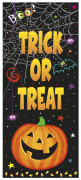 Décoration de porte Petite Citrouille Halloween