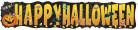 Bannière géante Petite Citrouille Halloween