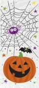 20 Sacs cadeaux en plastique Petite Citrouille Halloween