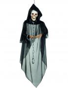 Décoration à suspendre squelette enchainé Halloween