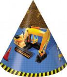 8 Chapeaux de fête anniversaire Chantier