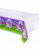Nappe plastique Licorne magique 130 x 260 cm