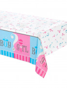 Nappe plastique Girl or Boy 137 x 214 cm