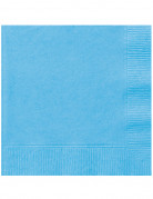 50 Serviettes bleu ciel 33 x 33 cm