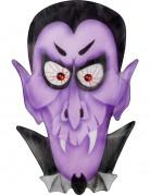 Décoration vampire violet 36 x 57 cm Halloween