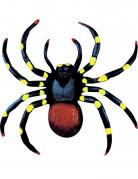 2 Araignées colorées fluo 10 cm Halloween