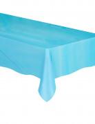 Nappe plastique bleu pastel 1,37 m x 2,74 m