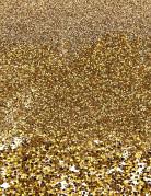 Trio de paillettes dorées