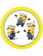Disque azyme trio Les Minions™ 20.5 cm