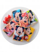 10 Décorations en sucre pour biscuits Minnie et Mickey™