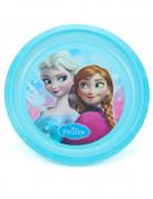 Assiette plastique réutilisable La Reine des Neiges™ 21 cm
