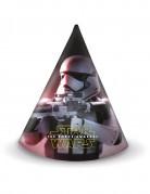 6 Chapeaux de fête Star Wars VII™