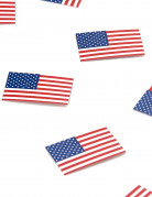 50 Confettis de table USA