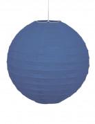 Lanterne japonaise bleue 25 cm