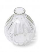 Mini vase en verre rétro 10 cm