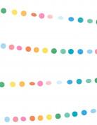Mini guirlande petits pois multicolores 3 m